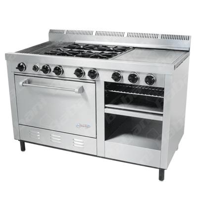 Estufas para cocinas industriales for Estufas industriales