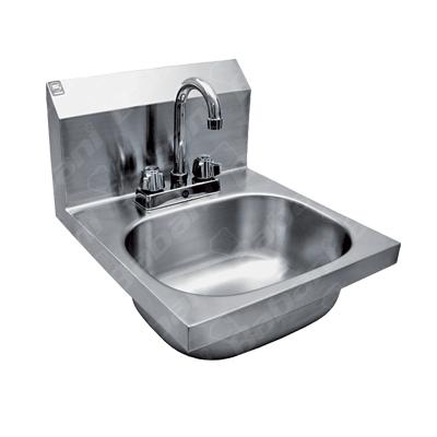 Lavamanos de acero inoxidable for Precio de llaves para lavamanos