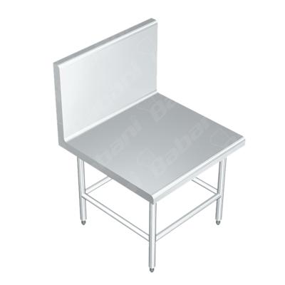 Mesa baja de apoyo para licuadora en acero inoxidable for Mesa apoyo cocina