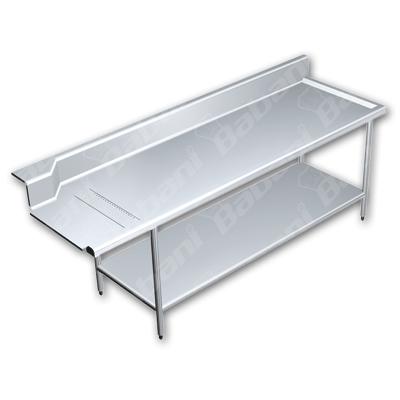 Muebles para restaurantes en acero inoxidable for Muebles de acero inoxidable
