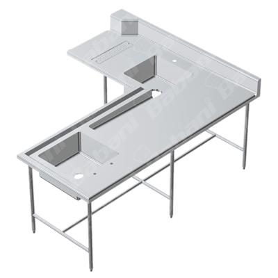 Muebles para restaurantes en acero inoxidable for Precios de muebles para restaurantes