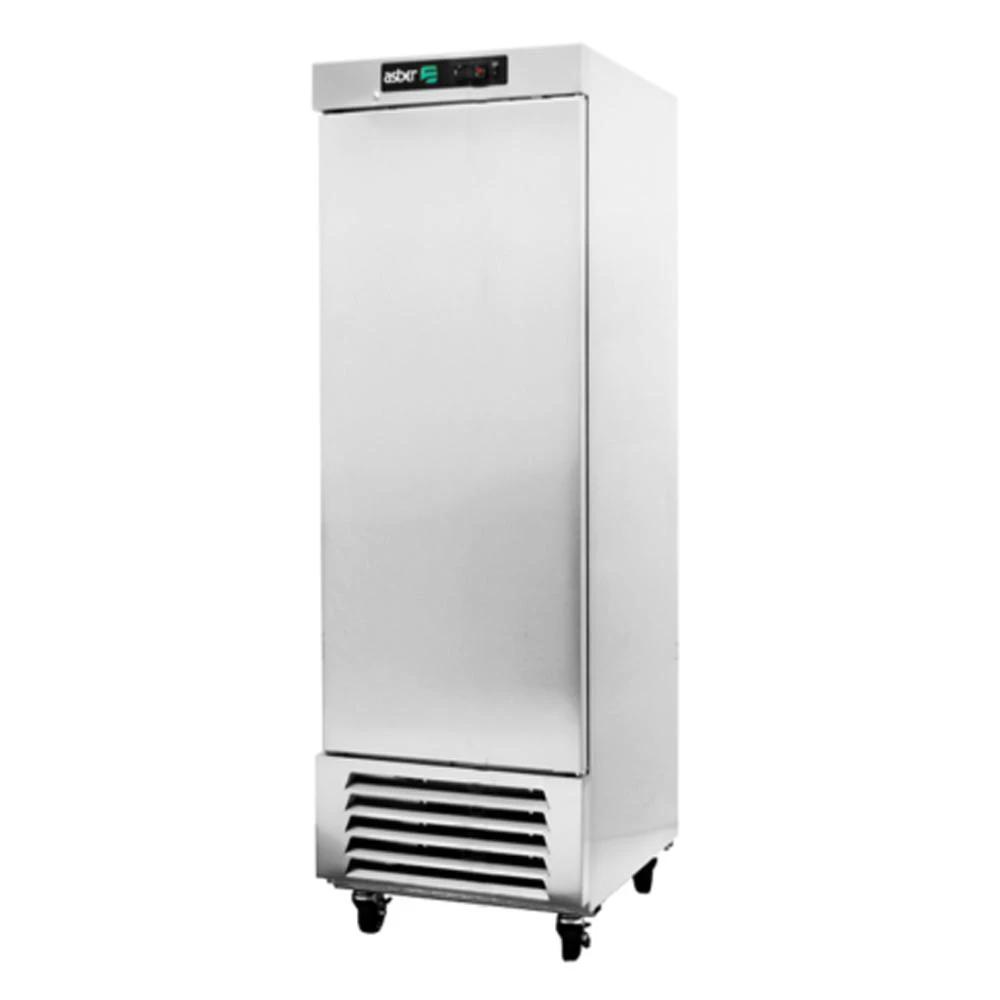 refrigerador comercial en acero inoxidable